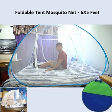 Foldable Tent Mosquito Net - 6X5 Ft