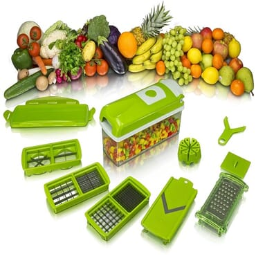 Nicer Dicer Multifunctional Fruits And Vegetables Slicer And Chopper