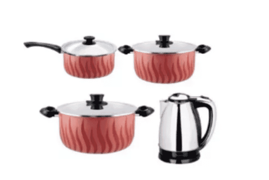 Tefal Kitchen Bundle - Non Stick Pots + Jug