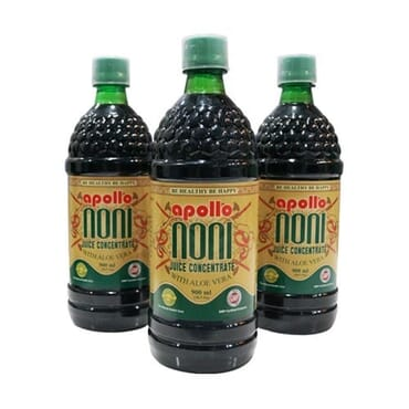 Syrup Enriched With NONI