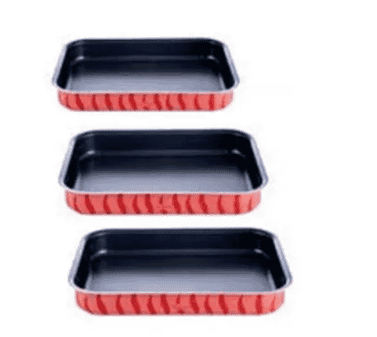 Tefal Oven Dishes Rectangular Set 3 - S J1195685