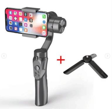 iPhone 8 Selfie Stablizer Lightweight Control Panel Camera Gimbal Stabilize