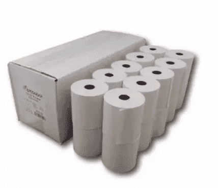 Universal Chef Paper Denim & Cloth POS Thermal Paper 57mm x 38mm - 100Rolls