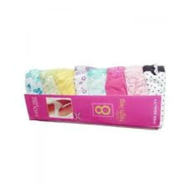Ladies Panties Set - 8 in 1(Available in M,L,XL and XXL)