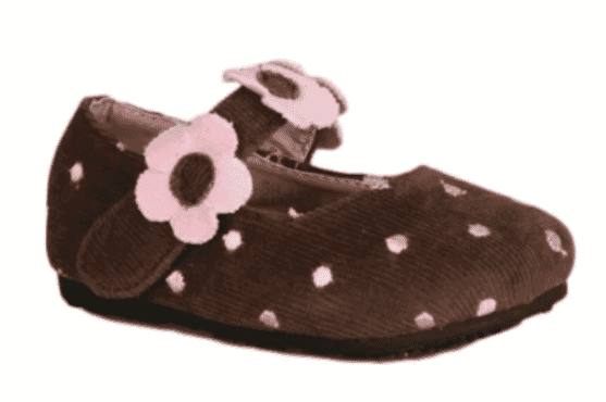 Bear inc Polka Dot Mary Jane Shoe - Brown