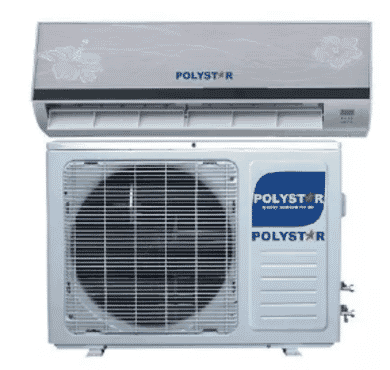 Polystar 1.5hp Split Air Conditioner With Installation Kit - Pv-ss12led