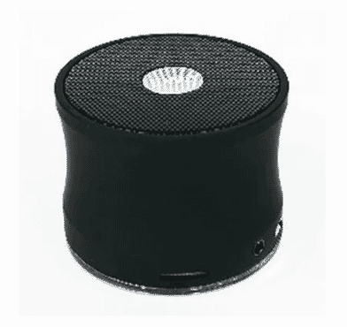 Ewa Warehouse Aviation A109 Steel Portable Bluetooth Speaker -CBlack