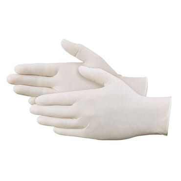 Powder-free Surgical Latex Gloves - Pack of 100