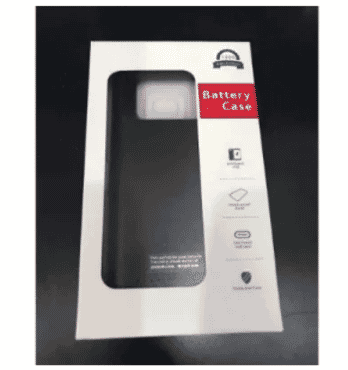 Backup Power Case For Samsung Galaxy Note 9 5000 Mah - Black