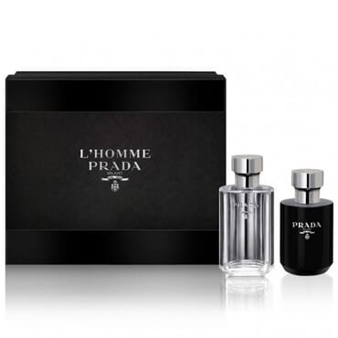 Prada L'Homme EDT 100ml Gift Set For Men