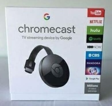 Google Chromecast TV Streaming Device