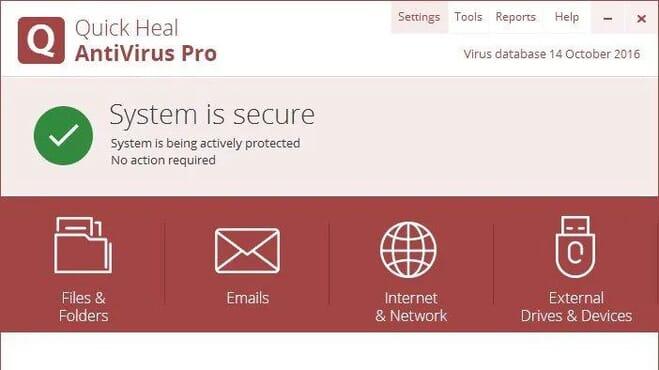 Quickheal Antivirus Pro