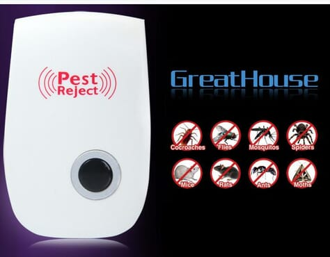 Multipurpose Electronic Ultrasonic Mosquito and Pest Repeller
