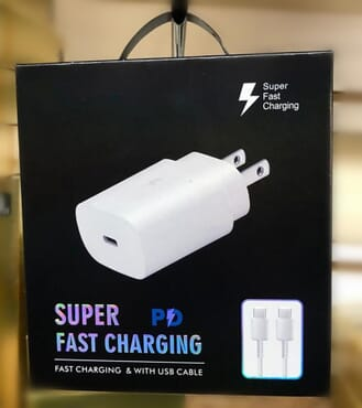 For Samsung Note10 PD Fast Charging 25w Power Adapter & USB Type C to USB C Data Cable US EU QC3.0 Quick Travel Charger for Galaxy Note 10+