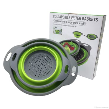2 Piece Collapsible Filter Baskets