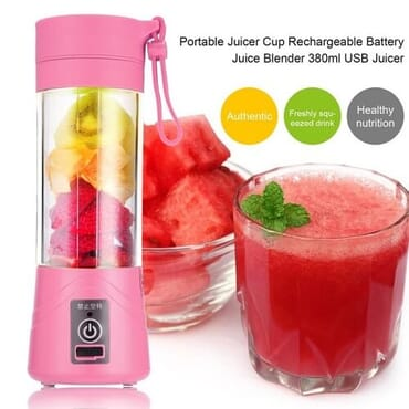 USB Rechargeable Smoothie Blender