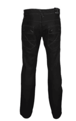 BLUE INC Regular Fit Covered Pockets Jeans - Black
