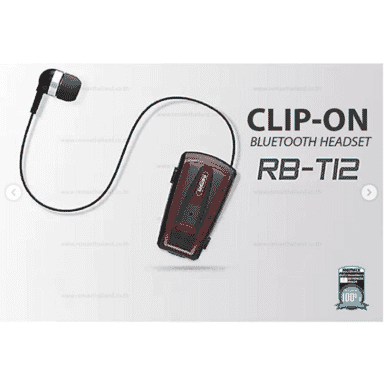 Remax RB-T12 CLIP-ON Bluetooth Headset