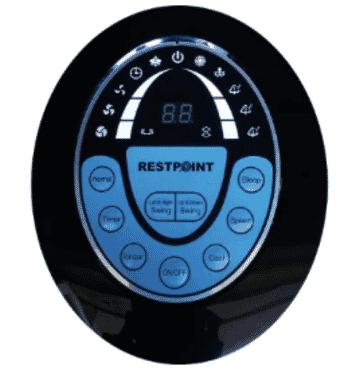 Restpoint 15-Litre Air Cooler - EL-16A - Black & White