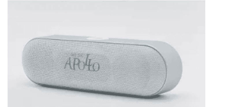 Apollo Bluetooth Reverb Speaker - White