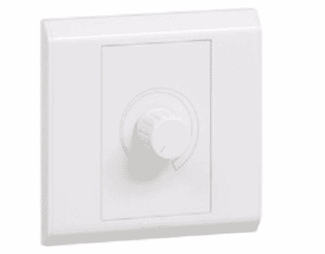 Legrand Rotary Dimmer - 600 W - 230 V - 1 Gang - 1 Way - 617030