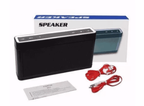 Bluetooth Speaker With 3D Rugged Sound