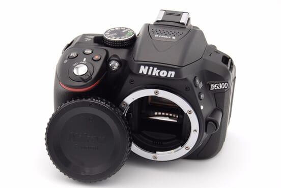 Camera - Nikon D5300 24.2MP Digital SLR Camera wit 18-55mm lens