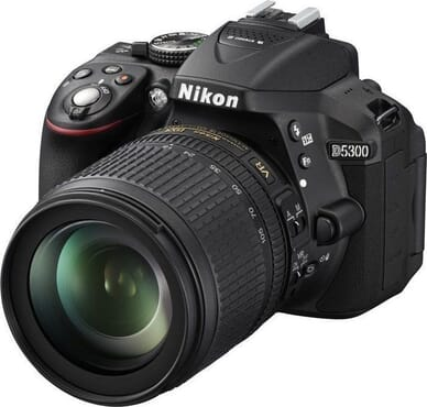 Camera - Nikon D5300 24.2MP Digital SLR Camera wit 18-55mm lens