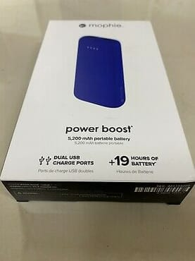 Brand New Mophie Power Boost Portable Charger 5200 mAh