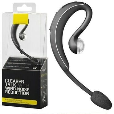 Jabra Wave  Wireless Bluetooth Wind Noise Reduction Headset - Black