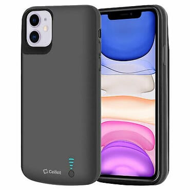 Apple iPhone 11 Heavy Duty Rechargeable Battery Case Cover 6000mAh