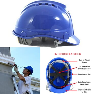 Safety Helmet For Engineers And Construction Workers