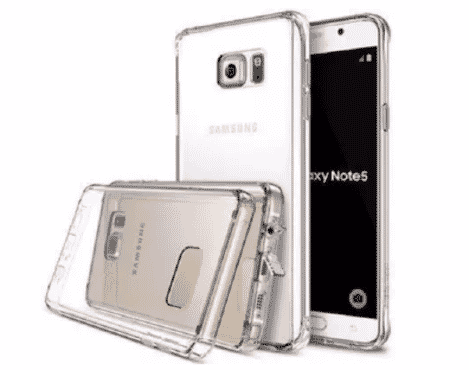 Transparent Back Case For Samsung Galaxy Note 3