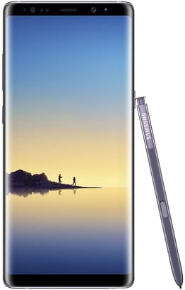 UK USED Samsung Galaxy Note 8 6.3-Inch QHD (6GB,64GB ROM) Android 7.1 Nougat, (12MP + 12MP) + 8MP Dual SIM 4G LTE Smartphone Midnight Black