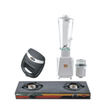 Sonik Table Top Gas Cooker, Blender & Sandwich Maker