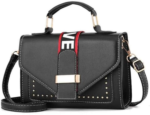 Women's Cross-Body Studded Handbag
