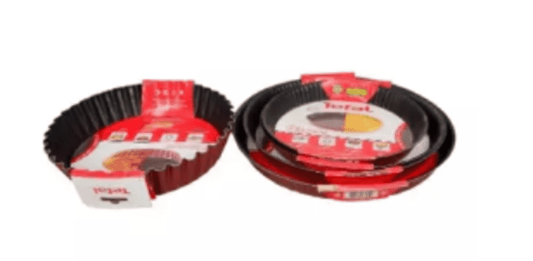 Tefal New Sets Of Patsserie/tart Pan.24cm,,26cm,27cm And 30cm