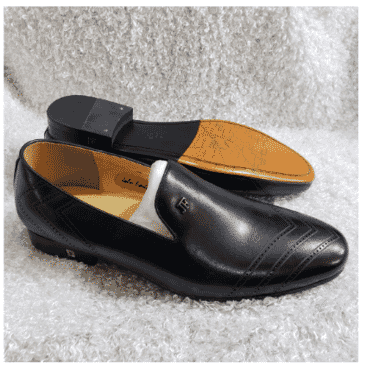 Men's Designer Loafer Shoe + A Free Happy Socks