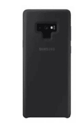 Silicone Back Case For Samsung Galaxy Note 9 - Black
