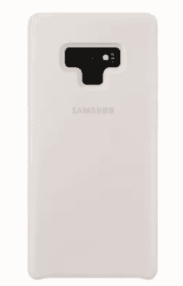 Universal Chef Silicone Back Case For Samsung Note 9 - White