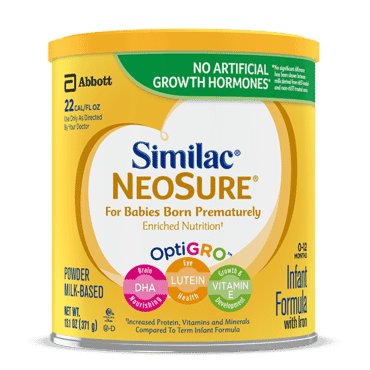 Similac Infant Formula With Iron For Premature Babies