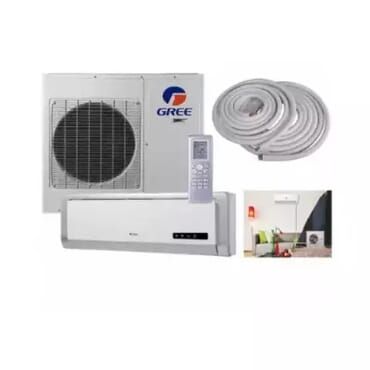 Gree 1HP Copper Condenser Split Air Conditioner + Installation Kit - gwc09na
