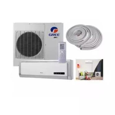 Gree 1HP Copper Condenser Split Air Conditioner + Installation Kit - gwc09na