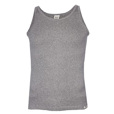POLICE KB.010 FULL BACK PLAIN GREY MEDIUM UNISEX TANK TOP