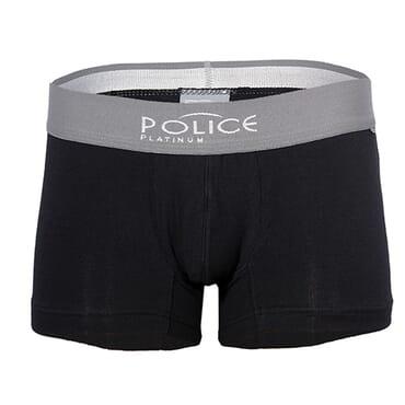 POLICE 0130 BLACK BOXER SIZE M - XXL