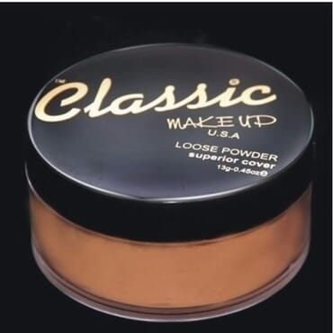 Classic Makeup Loose Powder Superior Cover - Chocolate