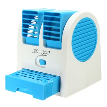 Double Inlet USB Desktop MIni Cooling Fan