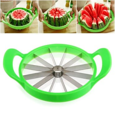 Watermelon Fruit Slicer - Green