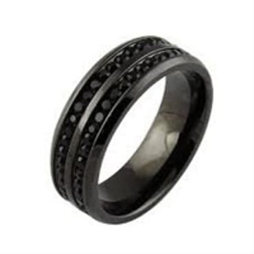 BLACK MEN RING WITH DIFFERENT DESIGNS