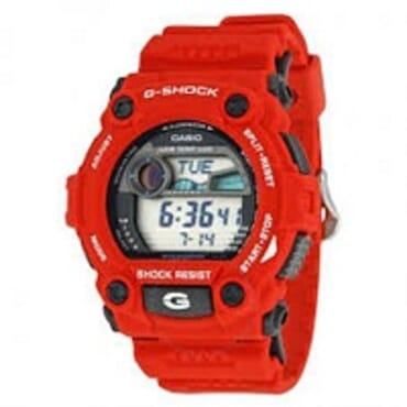 G-SHOCK G7900-1 RED WRIST WATCH